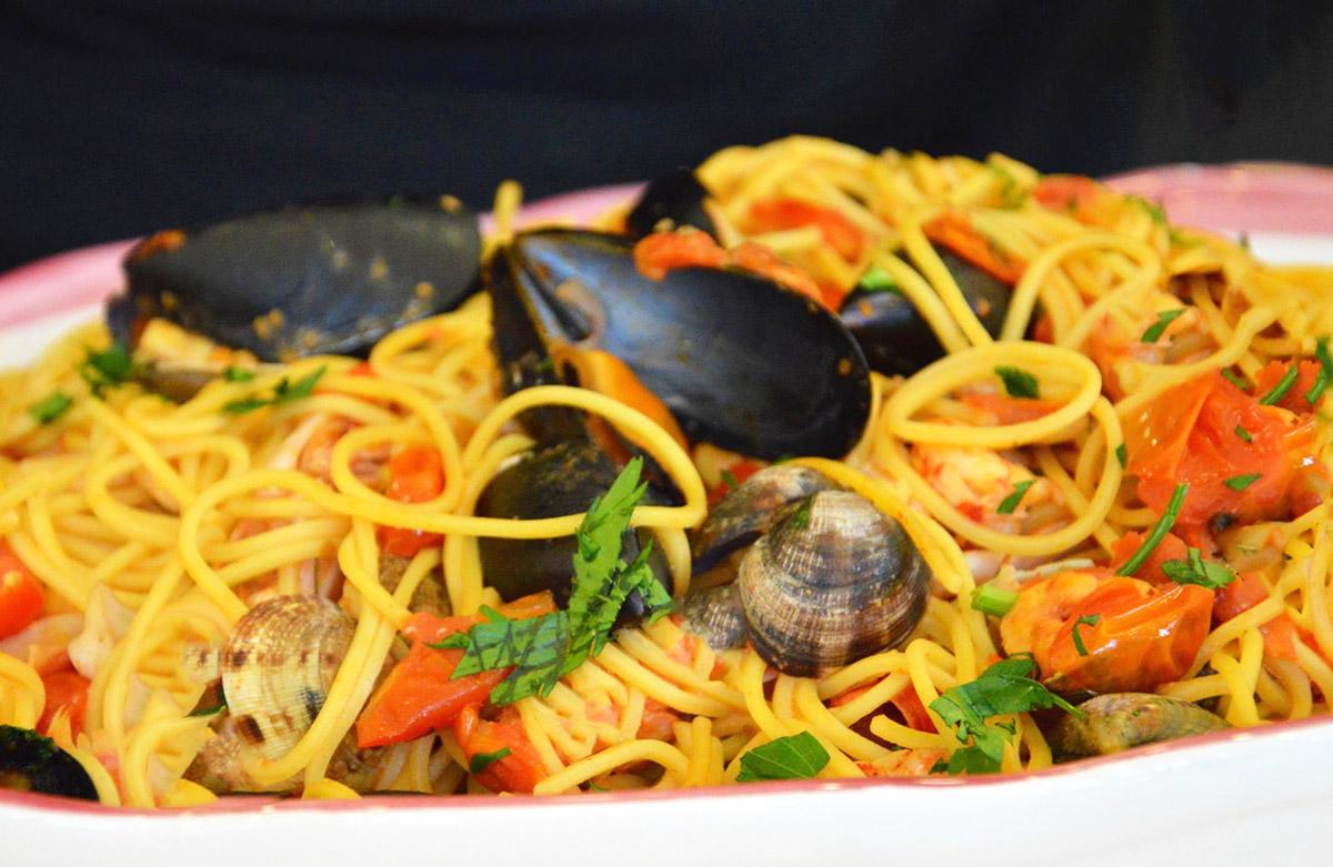 spaghettata alla marinara